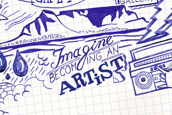 Red Bull Doodle Art – Imagine becoming an artist