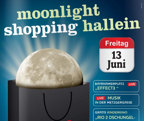 Moonlight Shopping Hallein 2014
