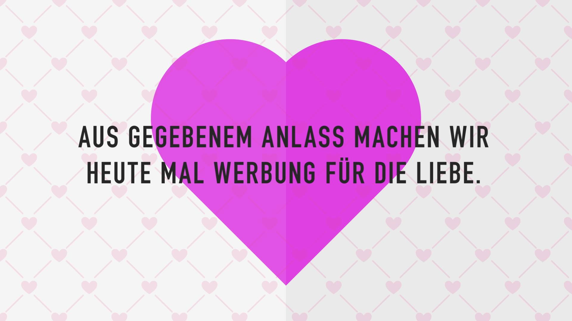 Createam Animation Valentinstag Dagegen Werbung für die Liebe