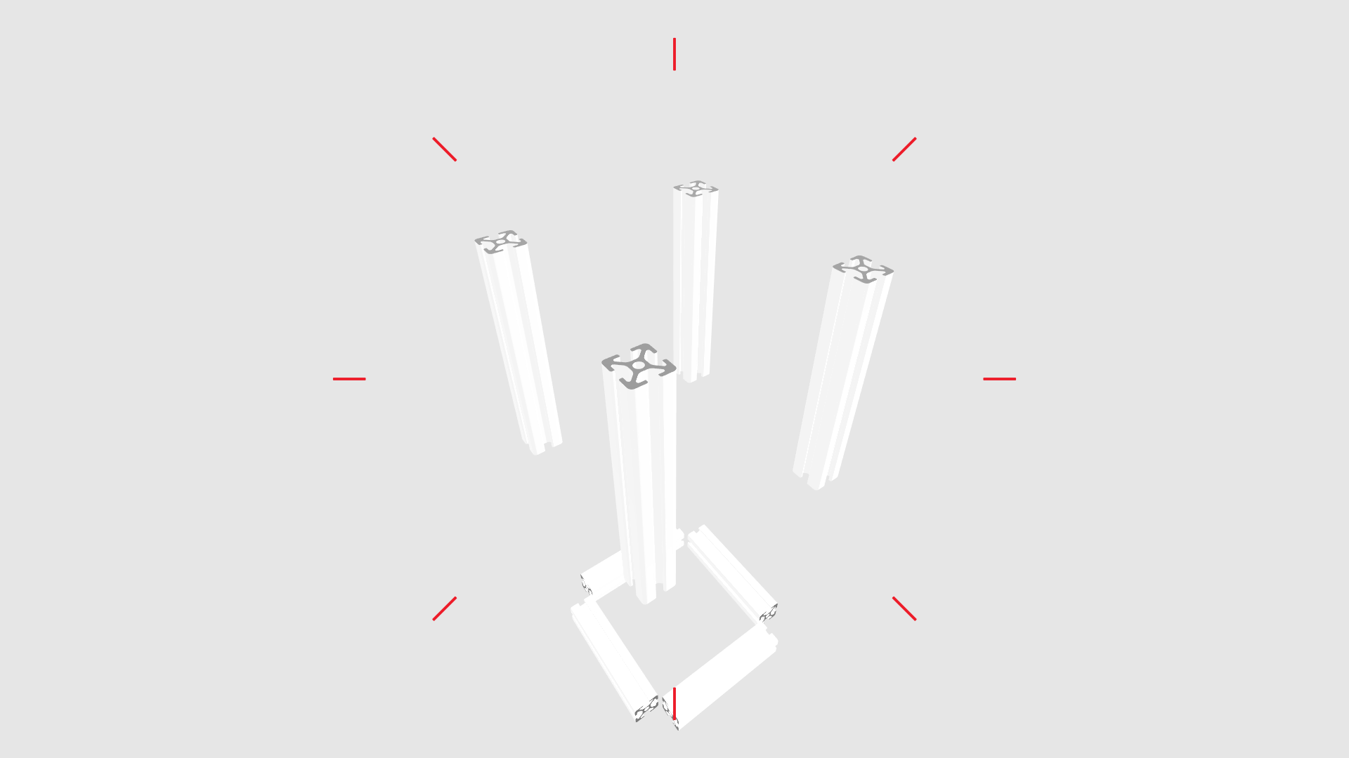 item24 – aluminium profile animation