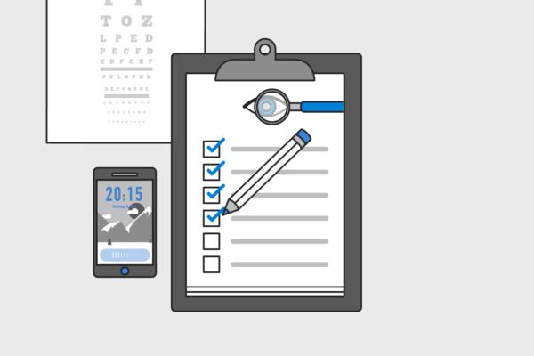 Katarakt OP Animation Augen Checkliste